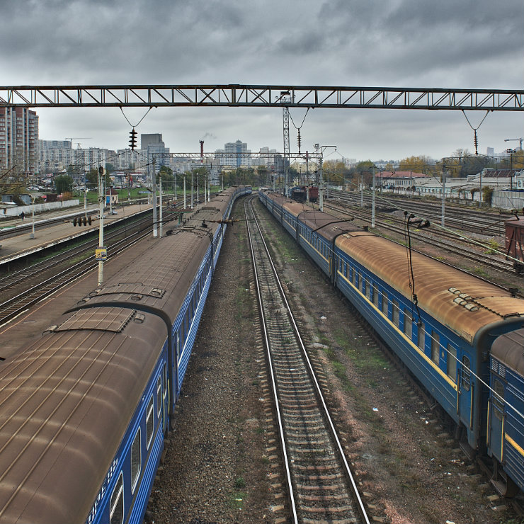 Under the Polish management Ukrainian railways started going in the right direction