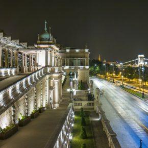 Wegry Budapesz zamek kwadrat