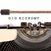 The gig economy is becoming increasingly global
