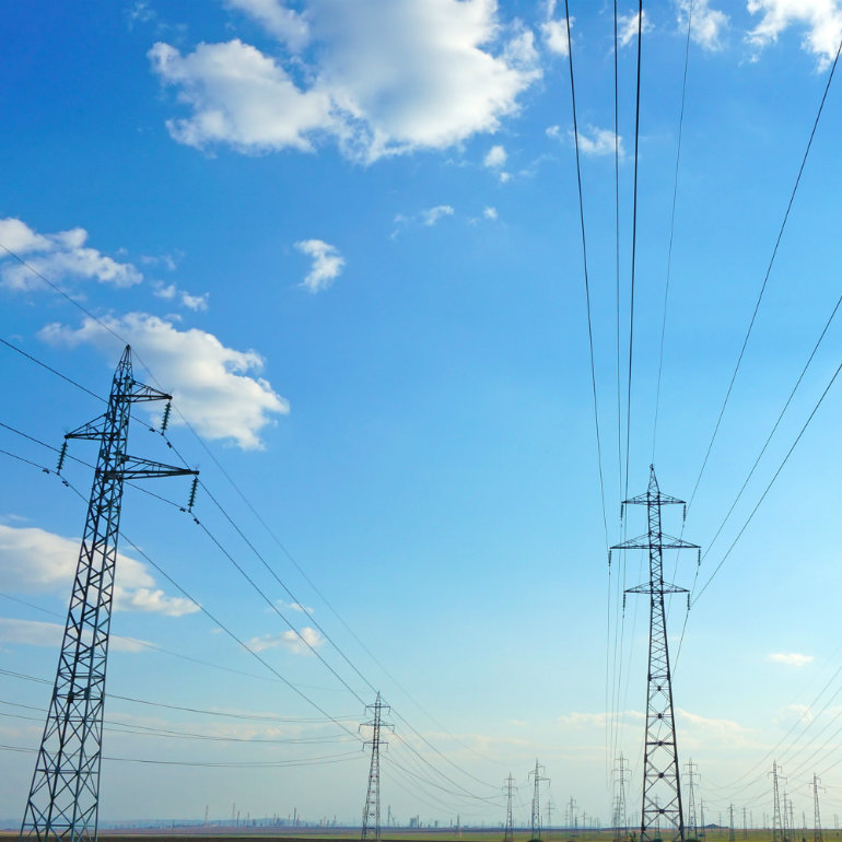 power lines bulgaria kwadrat