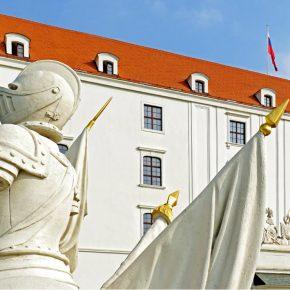 slovakia Bratislava castle kwadrat
