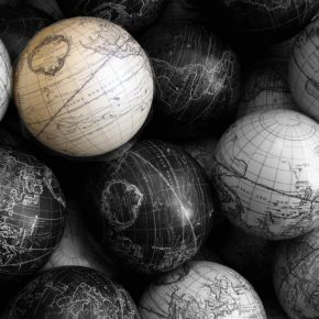 world globusy kwadrat