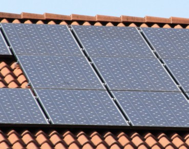 Solar panels house roof MAIN