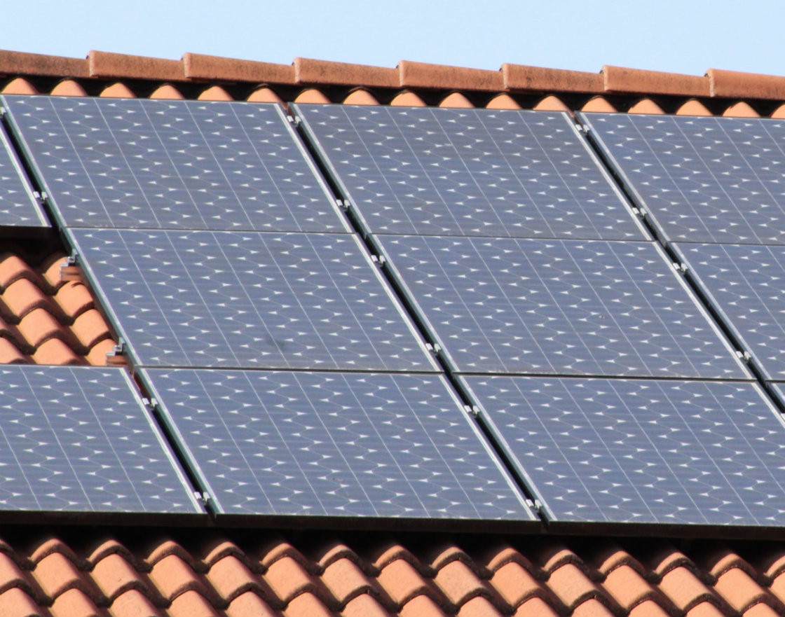 Solar panels house roof MAIN