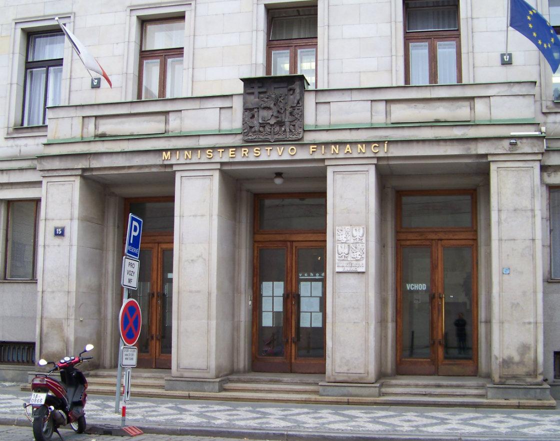 Czech Finance Ministry Prague MAIN