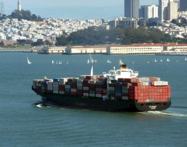 maritime transport container ship MAIN