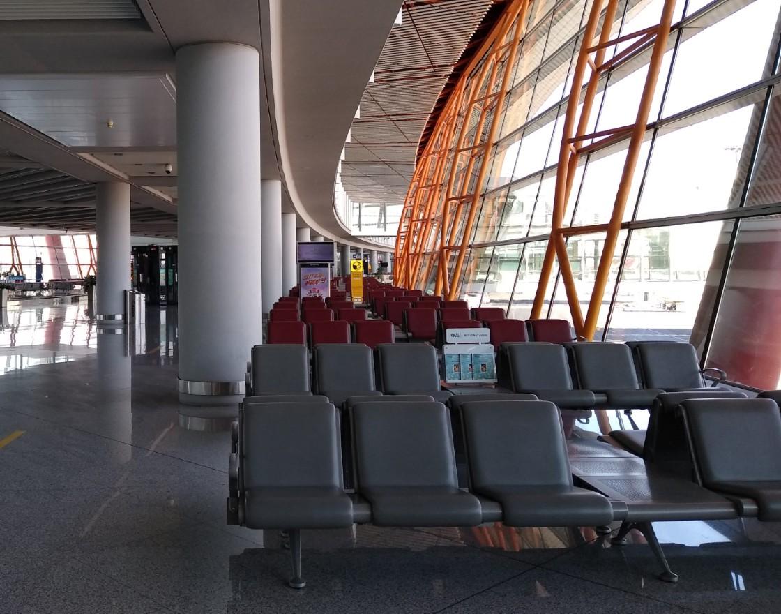 Beijing empty airport MAIN