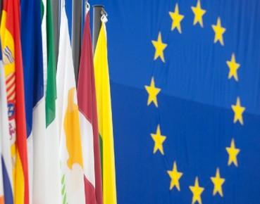 EU and national flags