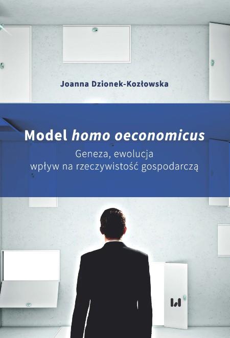 Sieroń_ Model homo economicus_recenzja_okładka