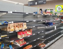 The pandemic may result in the food shortages