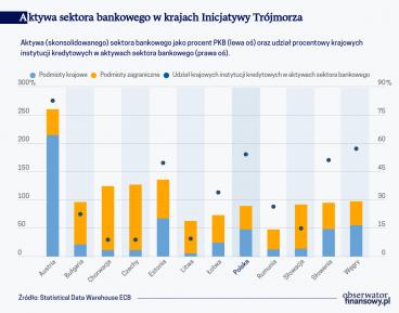 """Sektory bankowe państw """"Inicjatywy Trójmorza"""" przed pandemią"""