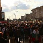 The nationwide protests over pay cuts in Bulgaria