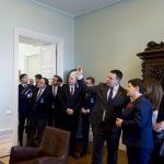 Latvia's PM praises Polish participation in Rail Baltica