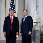 Donald Trump and Andrzej Duda talked trade and defense