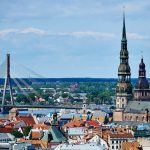 Latvia with the second lowest expenditures on social security
