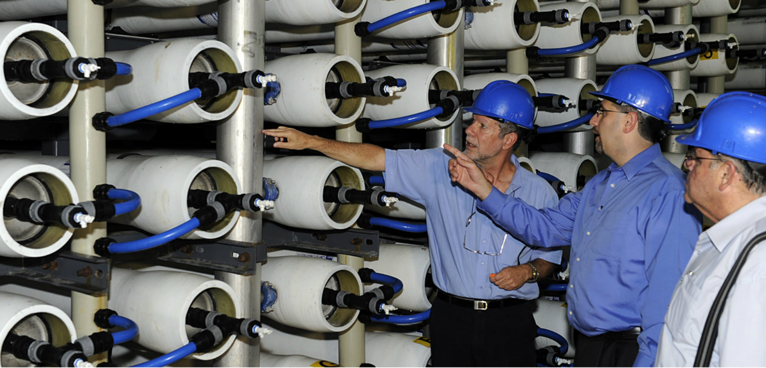 The Hadera Desalination Plant, Israel (U.S. Embassy Jerusalem, CC BY-SA)