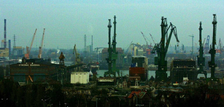 Gdańsk Shipyard (Gary Denham, CC BY-SA)