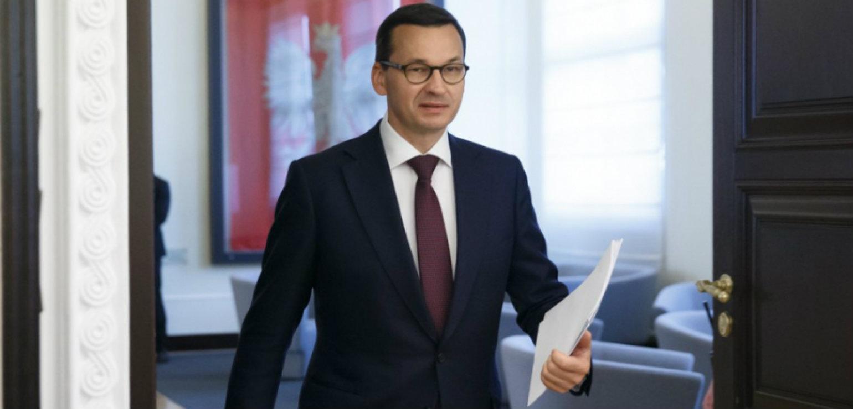 Prime minister Mateusz Morawiecki (KPRM)