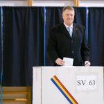 Romania's President Klaus Iohannis re-elected